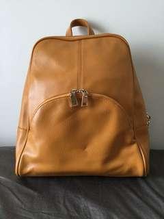 Mustard Yellow back pack from BKK