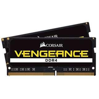 全新CORSAIR DDR4 2400 32GB (16x2) notebook RAM iMac可用