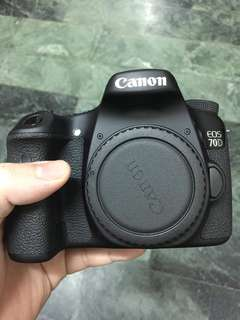 Canon 70D full box