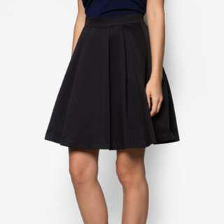 ZALORA Premium Full Faille Skirt