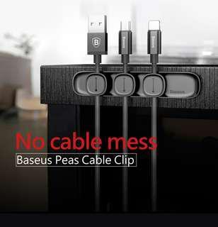 Magnet Cable Organiser (Black)