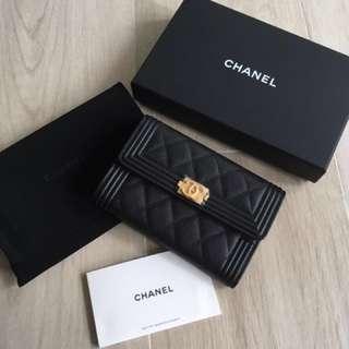 Chanel 銀包 boy Chanel