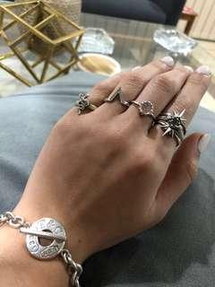Rings and bracelet!