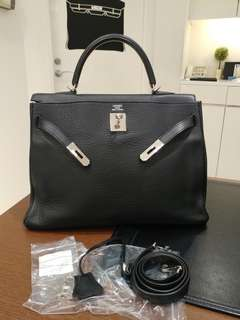 Hermes kelly 35 in black