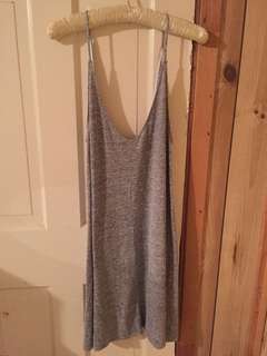 wilfred free grey slip on dress