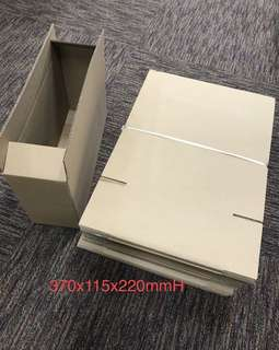 Brown Box for packing   Toners cartridges