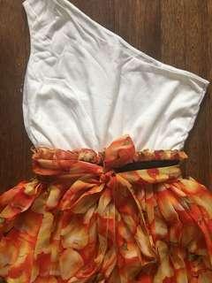 Coco Cabana Assymetrical Dress, Fits M-L