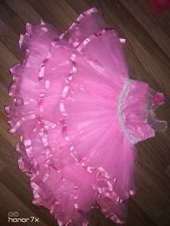 Pink Dress - suitable for 3-4 years