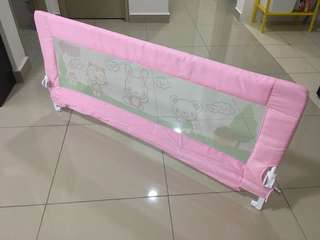 Bed rail pink 1.5m length