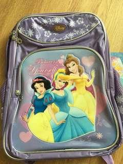 Princess school backpack
