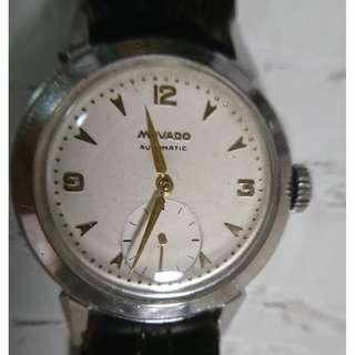50年代古董 MOVADO撞陀自動小三針錶