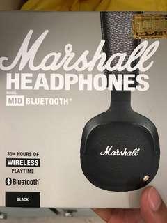 Marshall耳機