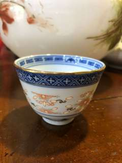 玉玩 rice Grain teacup