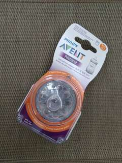 2 Avent Teat Natural Y for 6 months