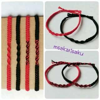 平結間扁扭紋手繩