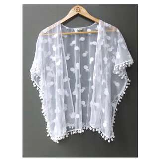 ‼️Brand New‼️ Ceyana Kids Lace Kimono (6-10 y/o)
