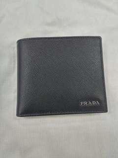 PRADA銀包 原價$5150