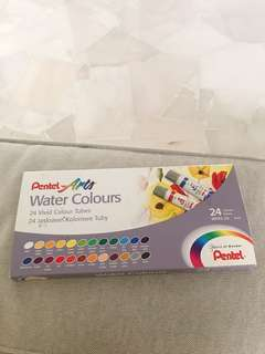 Pentel watercolor (24 colors)