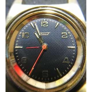 [最佳父親節禮物]古董瑞士天梭機械式上鍊鬧錶 (Vintage Tissot Manual-winding Alarm Watch)