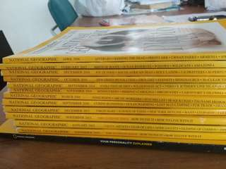 National Geographic Past Issues