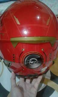 Iron Man Helmet (large) actual photo posted