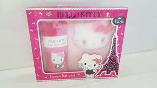 HELLO KITTY BATH SET