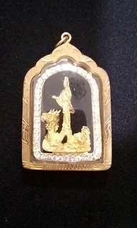 Guan yin riding dragon ( Lp key)