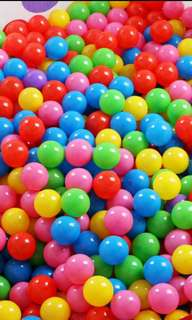 160pcs Colourful ocean balls instocks