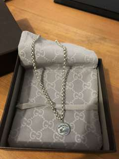 Gucci silver jewellery necklace