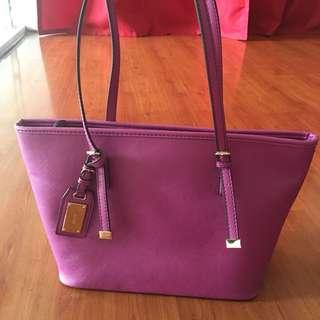 Preloved Auth Aldo Purple Bag