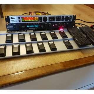 TC Electronic G-Major 2 + Rocktron Pro Gap Ultra + Behringer FCB 1010