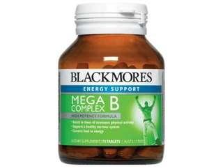 BLACKMORES 複合多種維生素B族 75粒 MEGA COMPLEX B