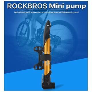 Rockbros 120psi Bicycle Pump 1004