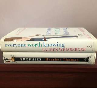 Lauren Weisberger & Others ~ Hard covers