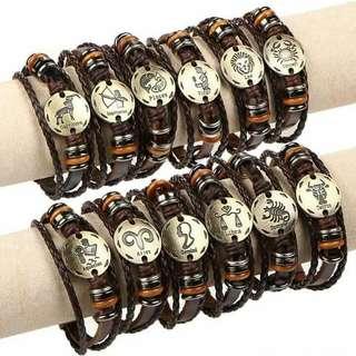 Zodiac Sign Bracelets