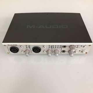 🚚 M-Audio FireWire 410 Audio Interface