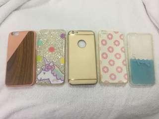 iPhone 6/6S Plus cases (5 cases for P400)