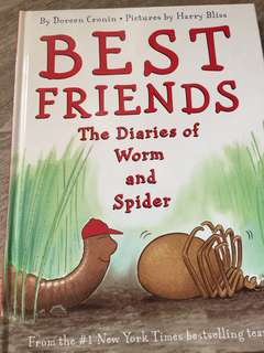 Best Friends the diaries of worm and spider
