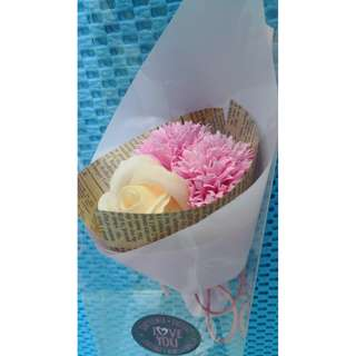 Flower art made from soap, ideal gift for ladies