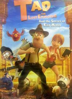 TAD : THE LOST EXPLORER AND THE SECRET OF KING MIDAS DVD