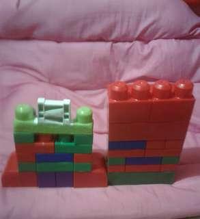 Mega Bloks 40 pcs.