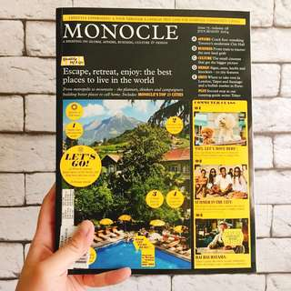 MONOCLE JUL/AUG 2014 Quality of Life Issue