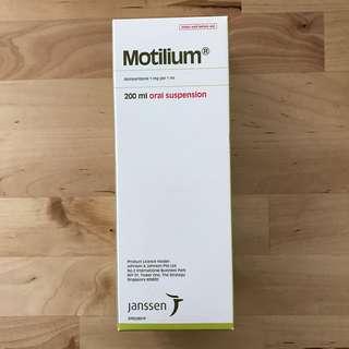 Motilium 200ml Oral Suspension (Expiry Oct 2019)