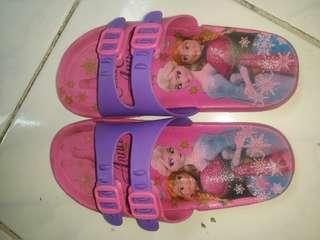 Frozen slipper