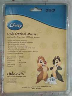 USB Optical Mouse - Disney Chip and Dale