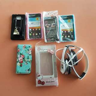 FREE IPhone 5, Samsung S2 covers + headphones