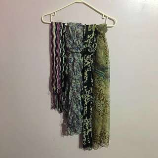 Assorted Scarves