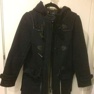 ZARA Wool Duffle Coat
