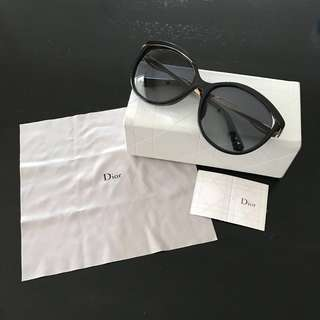 Authentic Christian Dior sunglasses with case/box