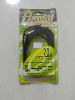 BN Daiyo 3.5mm to 2RCA premium cable 2m